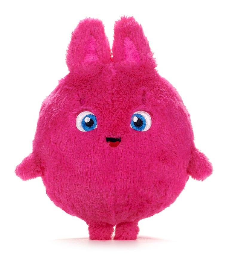 SUNNY BUNNIES Large Feature Boo (Pink)
