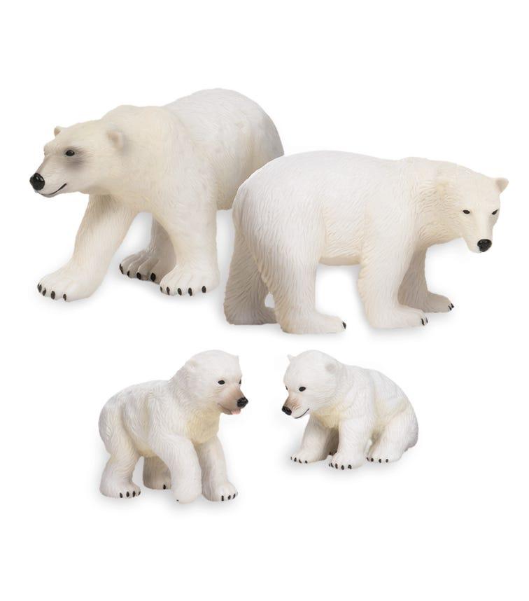 TERRA AND B TOYS Polar Bear Family