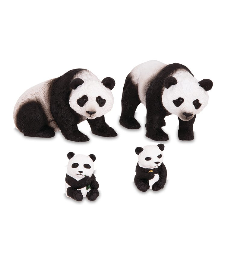 TERRA AND B TOYS Panda Family
