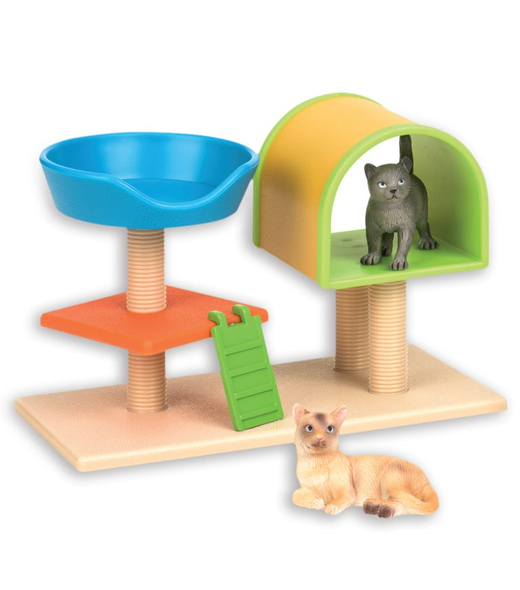 TERRA AND B TOYS Cats House Basket
