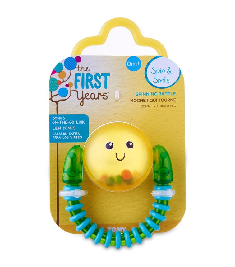 THE FIRST YEARS Spin And Smile Rattle