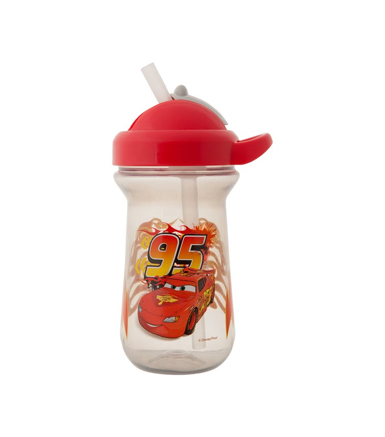 THE FIRST YEARS Cars Flip Top Straw Cup 1 Pack