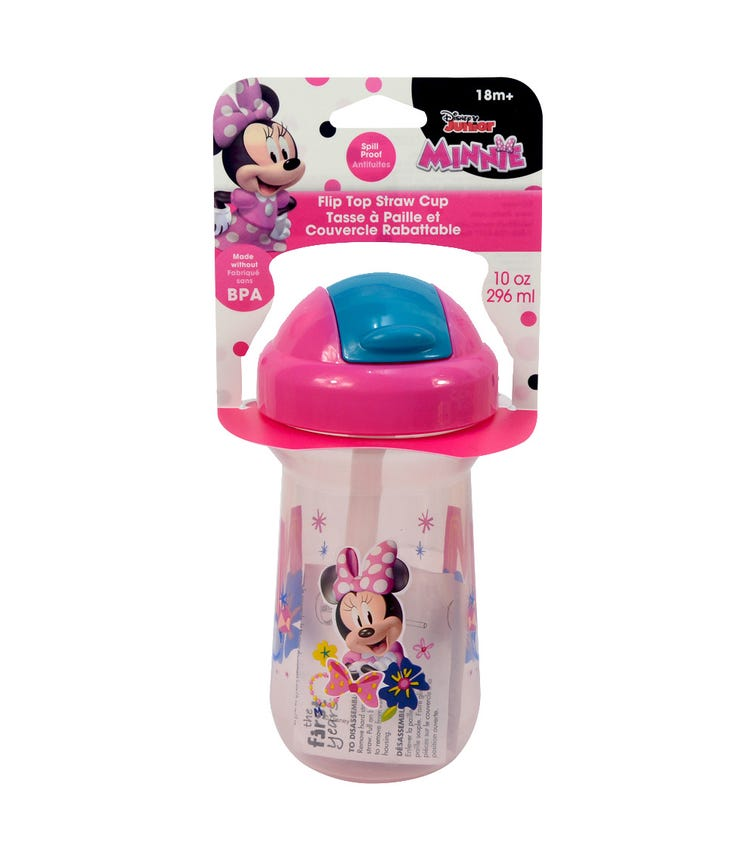 THE FIRST YEARS Minnie Flip Top Straw Cup 1 Pack