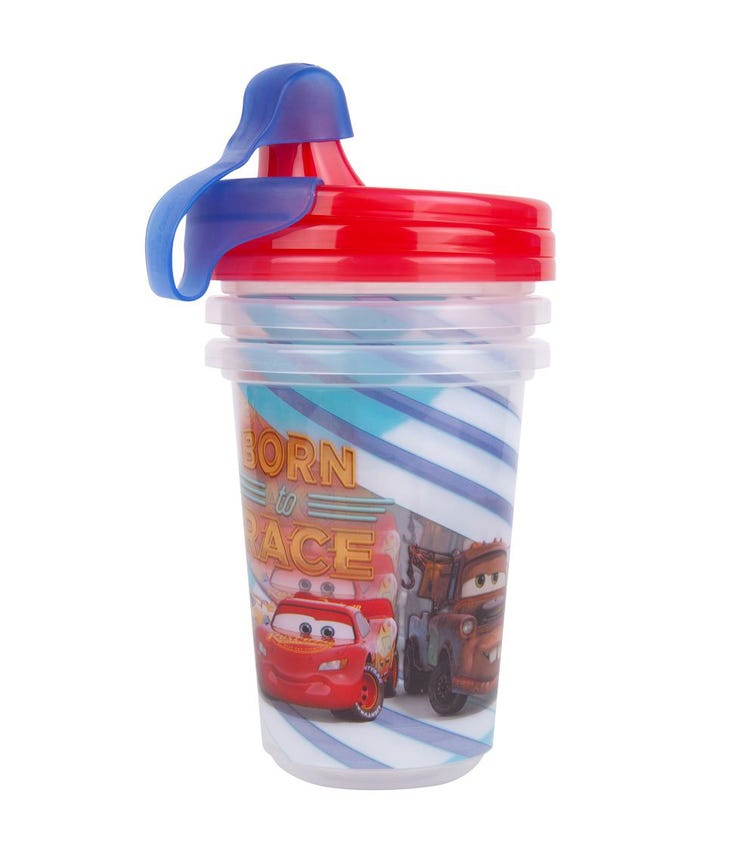 THE FIRST YEARS Cars Take Toss 10Oz Sippy Cup Pack Of 3