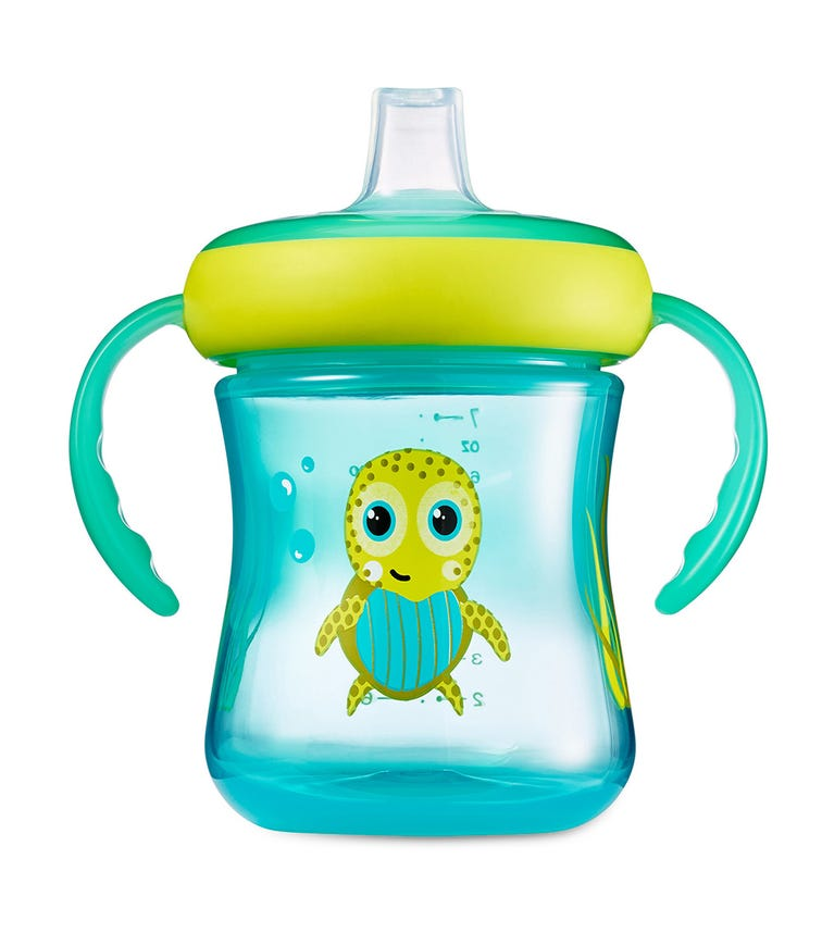 THE FIRST YEARS Soft Spout Trainer Cup Boy Pack Of 2 7Oz