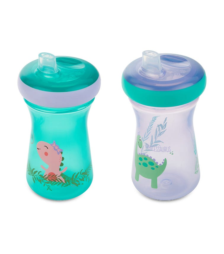 THE FIRST YEARS 9Oz Soft Spout Cup Pack Of 2 Blue/Pink