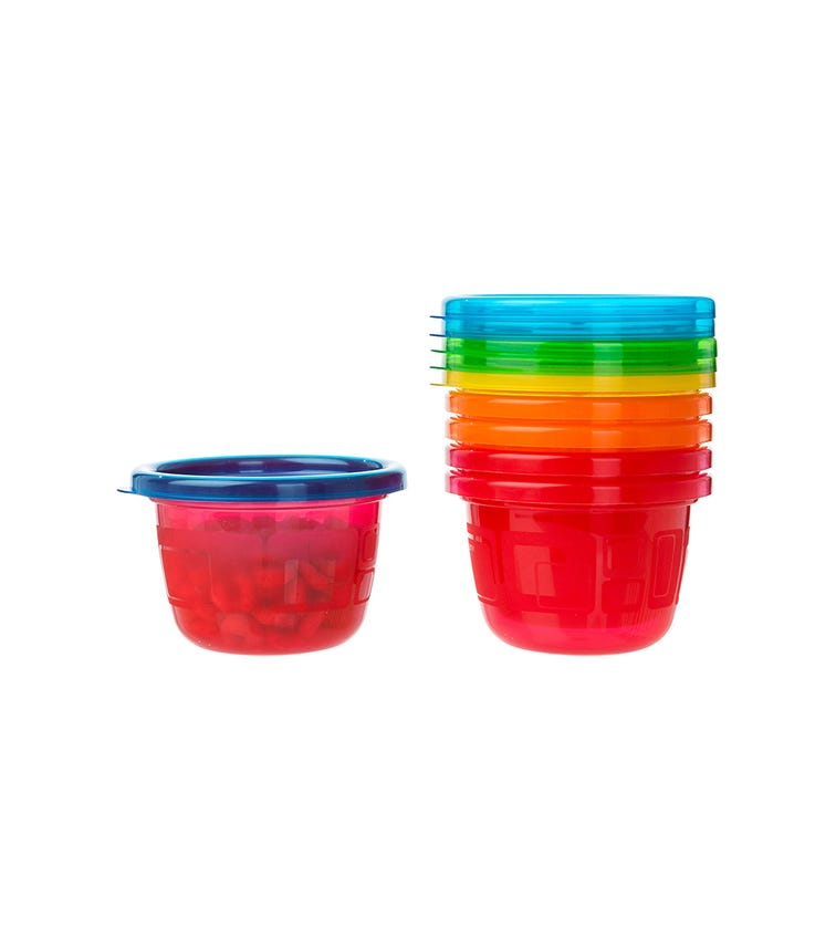 THE FIRST YEARS Take Toss 45Oz Snack Cups With Lids Pack Of 6