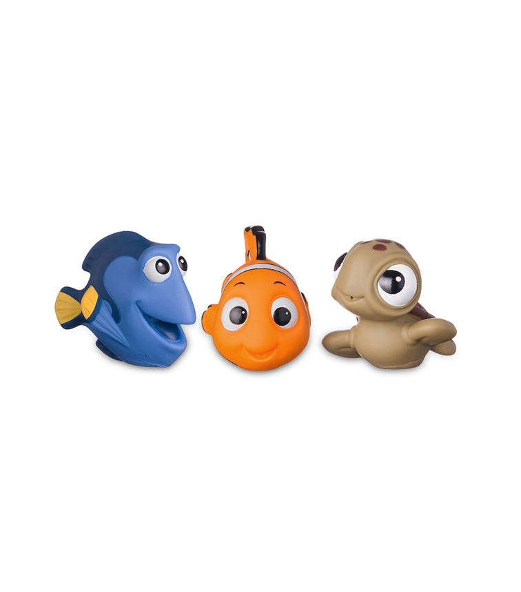 THE FIRST YEARS Disney Nemo Squirtie 3 Pack
