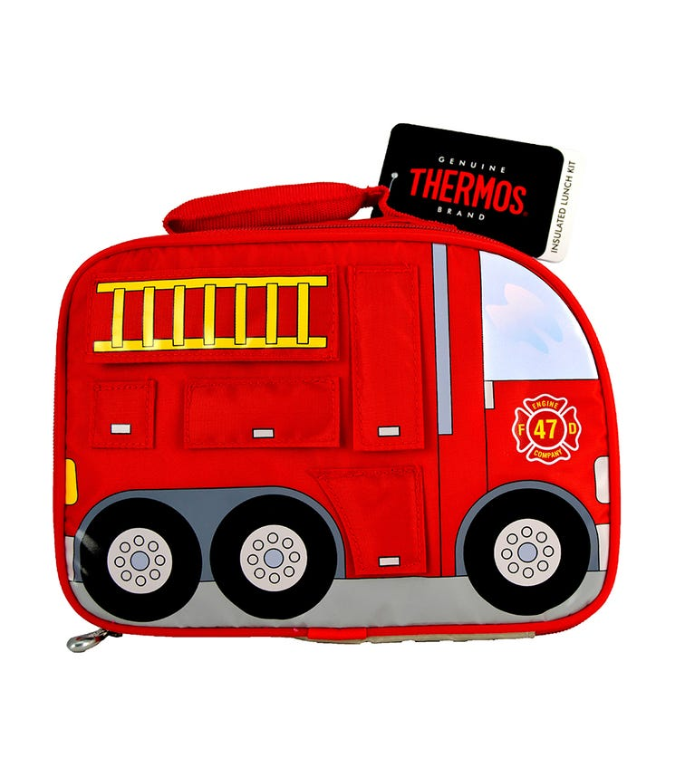 THERMOS Kids School Lunch Bag - Fire Truck