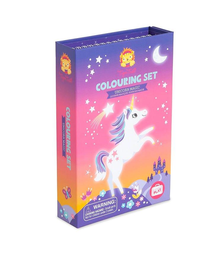 TIGER TRIBE Coloring Set Unicorn Magic