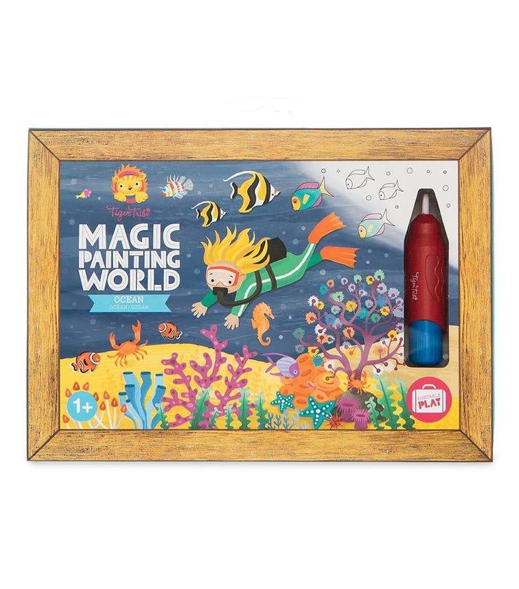 TIGER TRIBE Magic Painting World Ocean