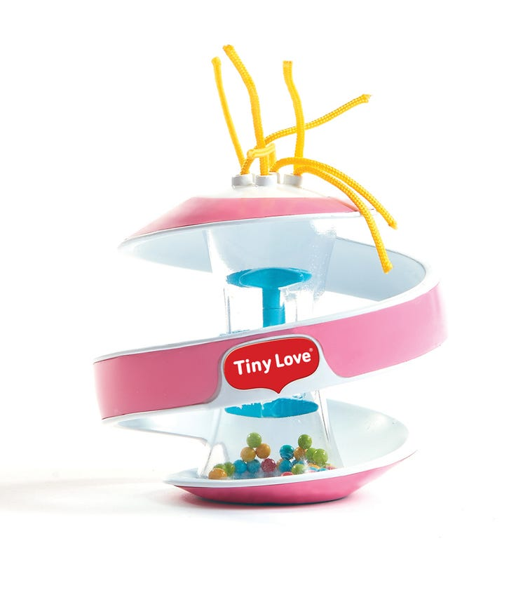 TINY LOVE Inspiral Rainstick Ball Pink