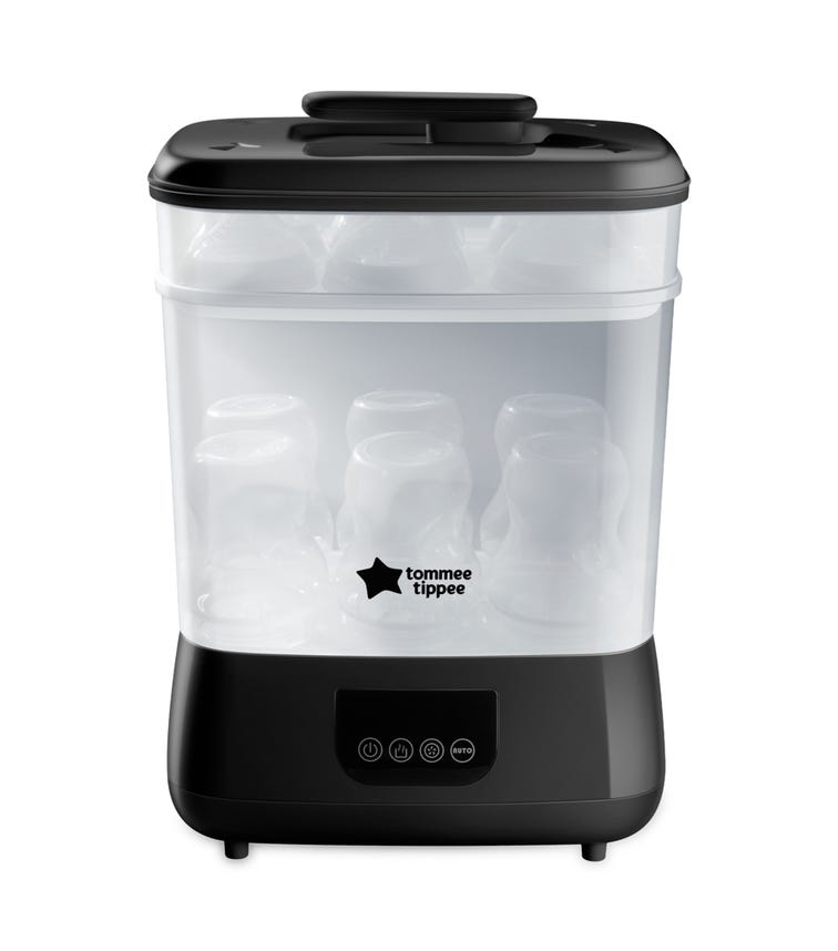 TOMMEE TIPPEE Advanced Electric Steam Sterilizer Dryer Black