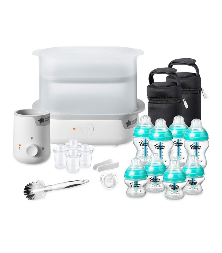 TOMMEE TIPPEE Advanced Anti-colic Complete Feeding Set Blue