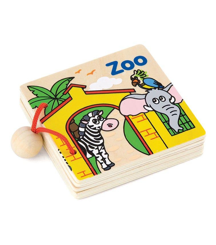 VIGA My First Book Zoo
