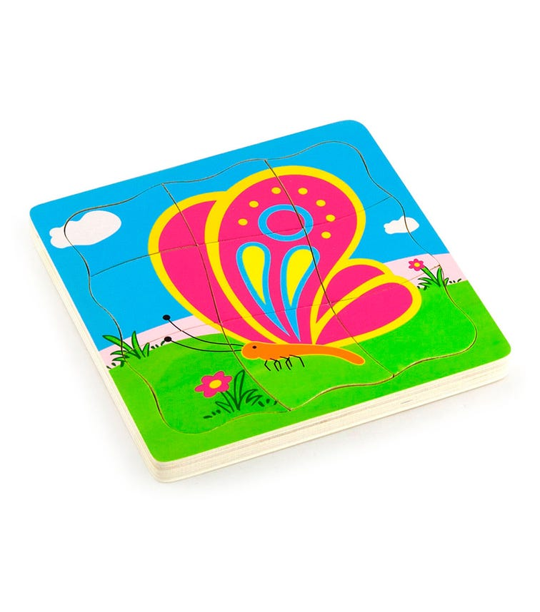 VIGA Grow-Up Puzzle Butterfly