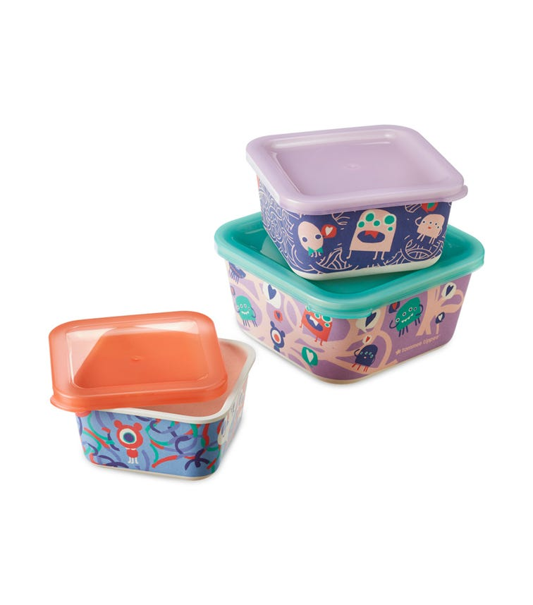 TOMMEE TIPPEE Bamboo Storage Box Set For Kids
