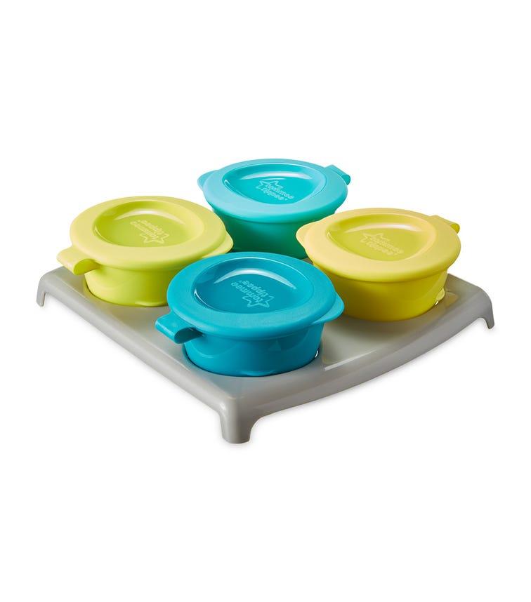 TOMMEE TIPPEE Explora Pop Ups Freezer Pots Tray X 4