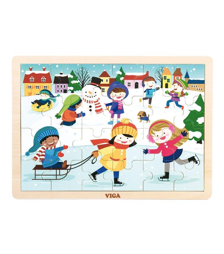 VIGA Season Puzzle Winter