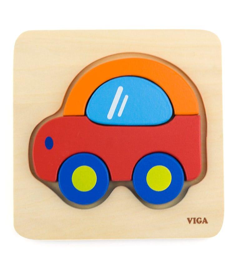 VIGA Mini Puzzle Car