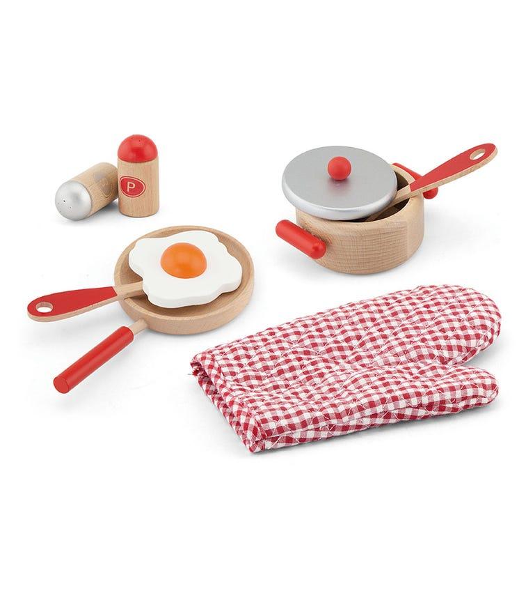 VIGA Cooking Tool Set Red