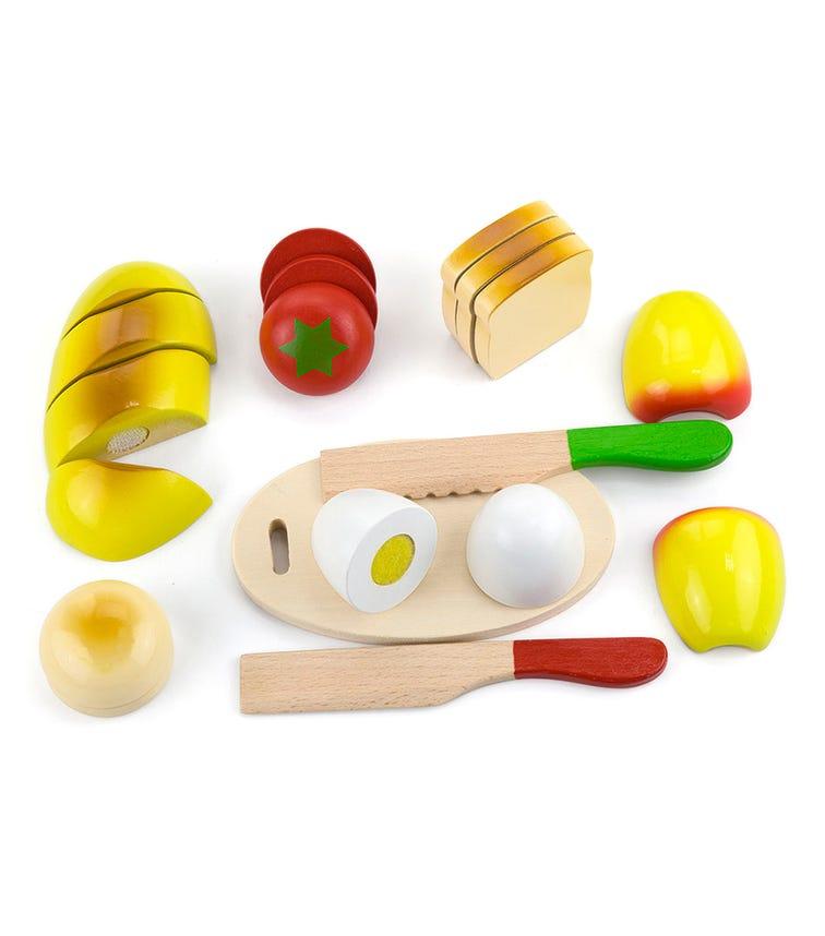 VIGA Cutting Meal Play Food Set