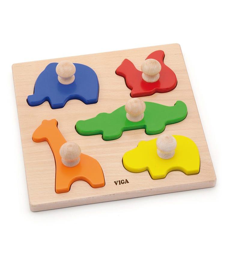 VIGA Block Puzzle Animals