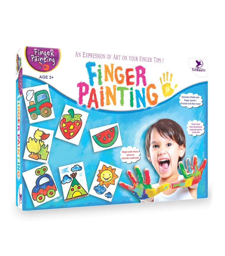 TOY CRAFT Finger Painting Kit
