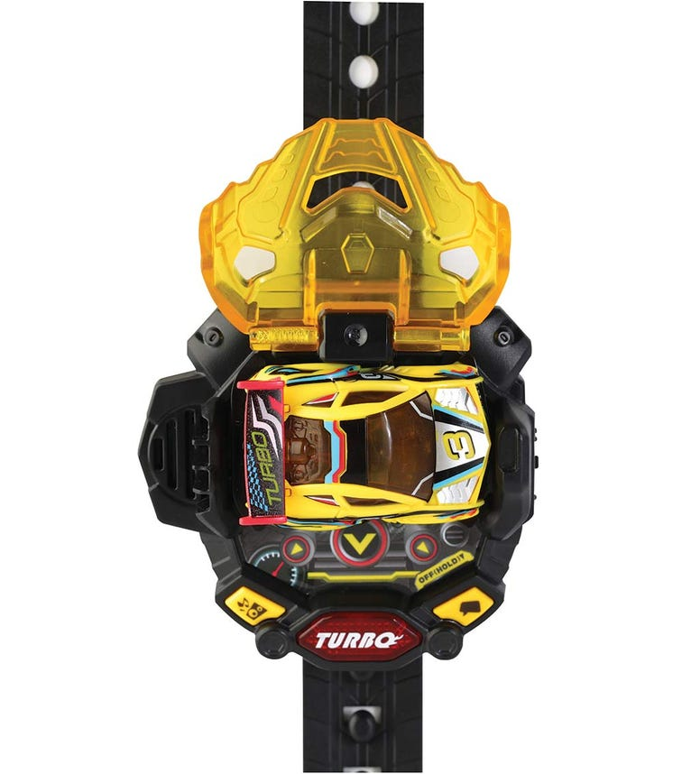 VTECH Turbo Force Racers-Yellow