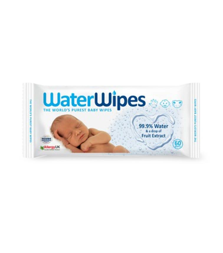 WATER WIPES - Baby Wipes (60 Wipes)