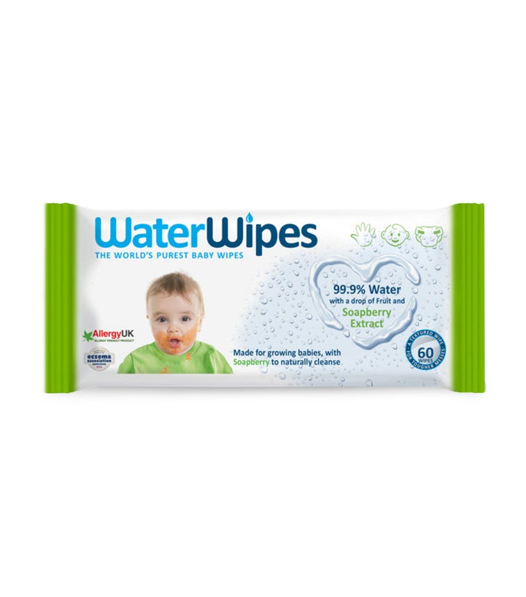 WATER WIPES - Baby Wipes Soapberry (60 Wipes)