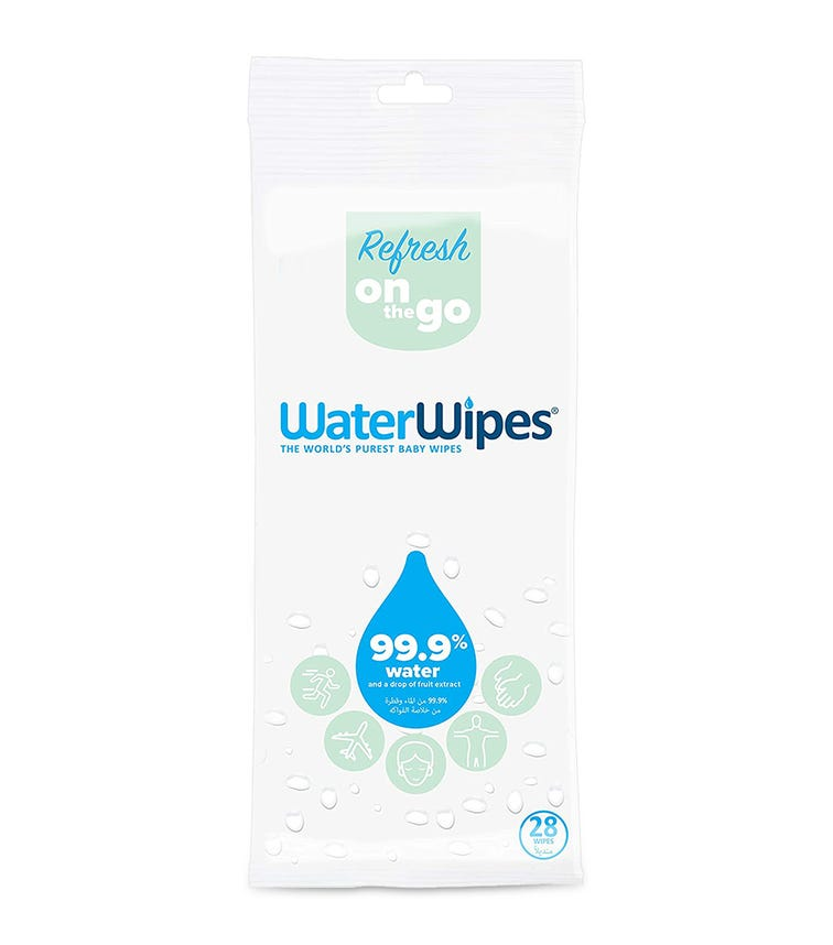 WATER WIPES Sports & Travel Wipes (28 Wipes)