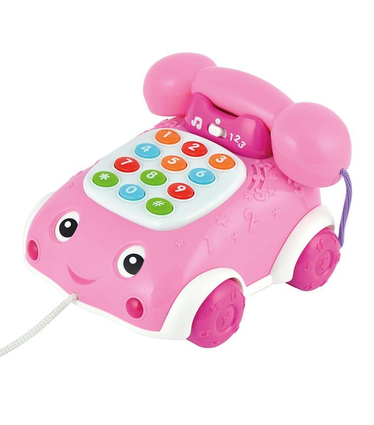 WINFUN Talk N Pull Phone Pink