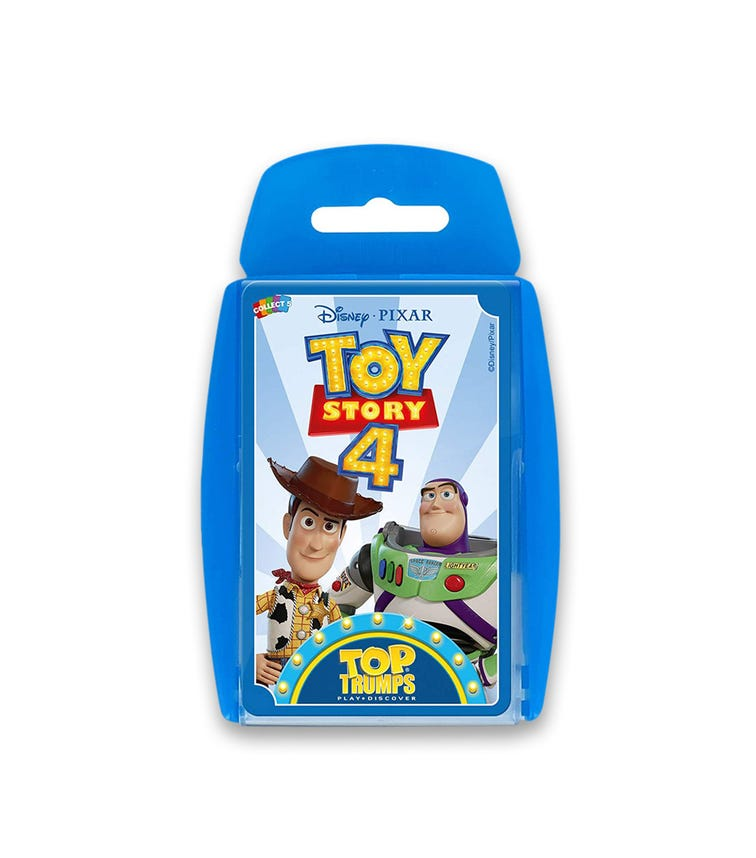 WINNING MOVES Top Trumps Toy Story 4 Card