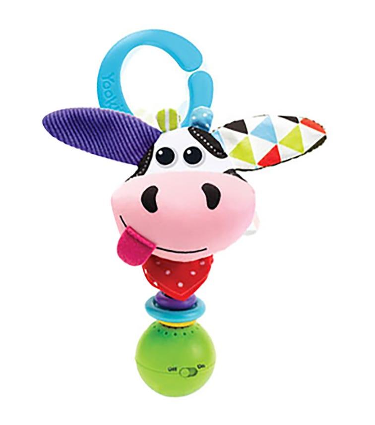 YOOKIDOO Cow Shake Me Rattle