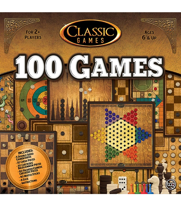 TCG Classic 100 Games In One Set