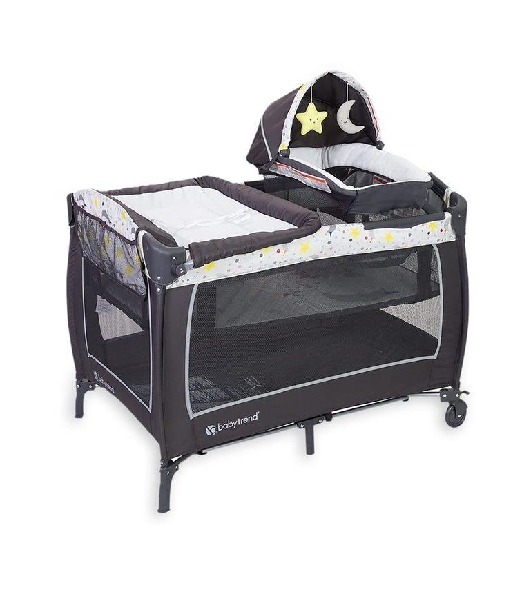 BABYTREND Lil Snooze Deluxe Ii Nursery Center Twinkle Twinkle Little Moon