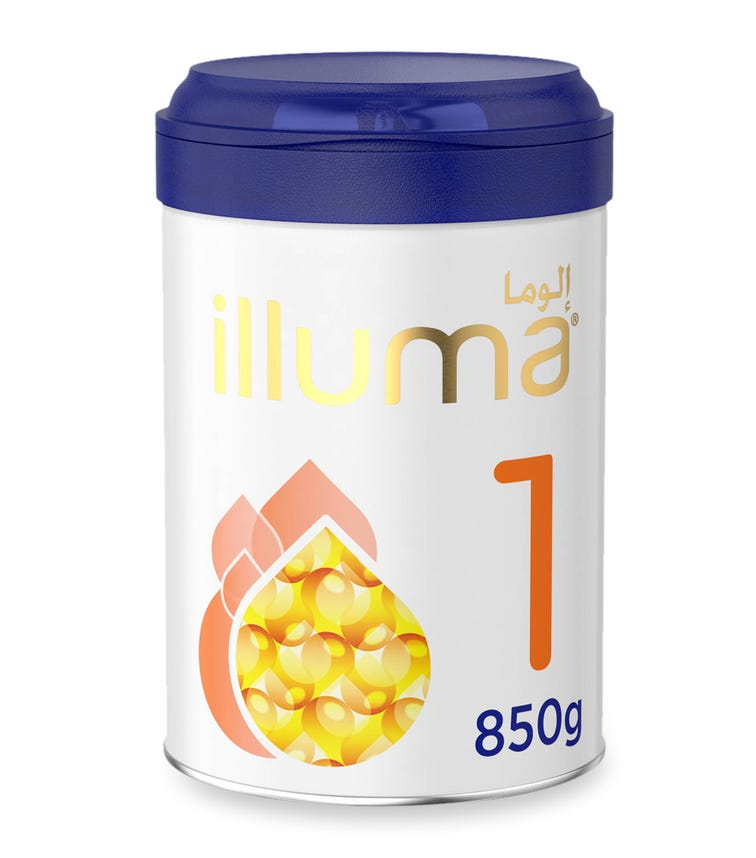 WYETH Illuma HMO Stage 1 (0-6 Months) Super Premium Starter Infant Formula - 850 G