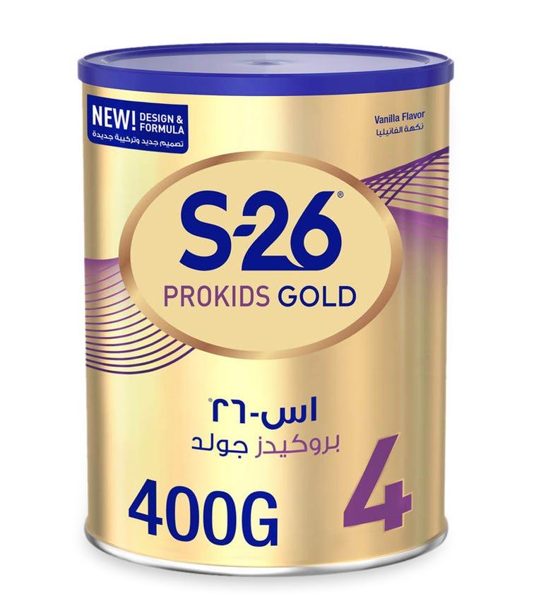 WYETH S26 Pro Kids Gold Stage 4 (3-6 Years) Premium Milk Powder For Kids - 400 G