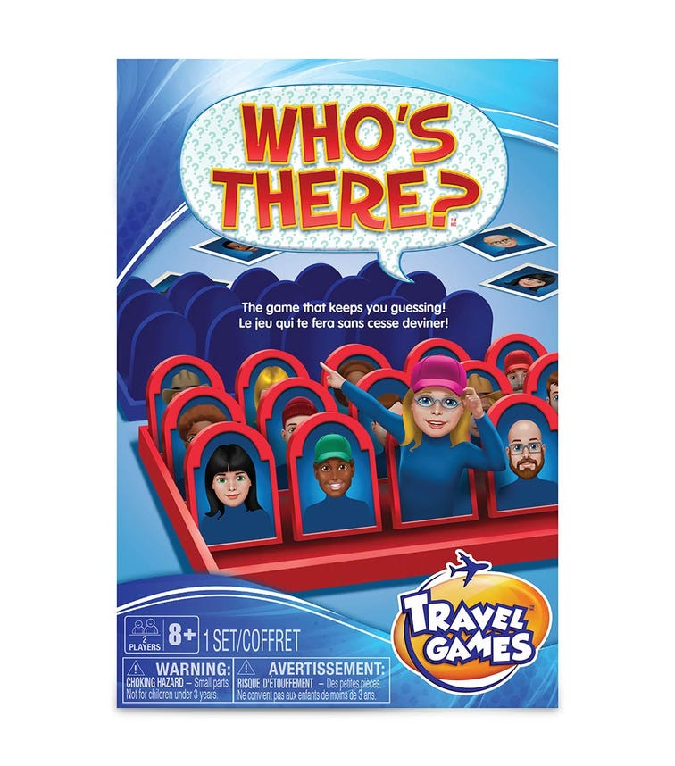 TCG Who's There Travel Game