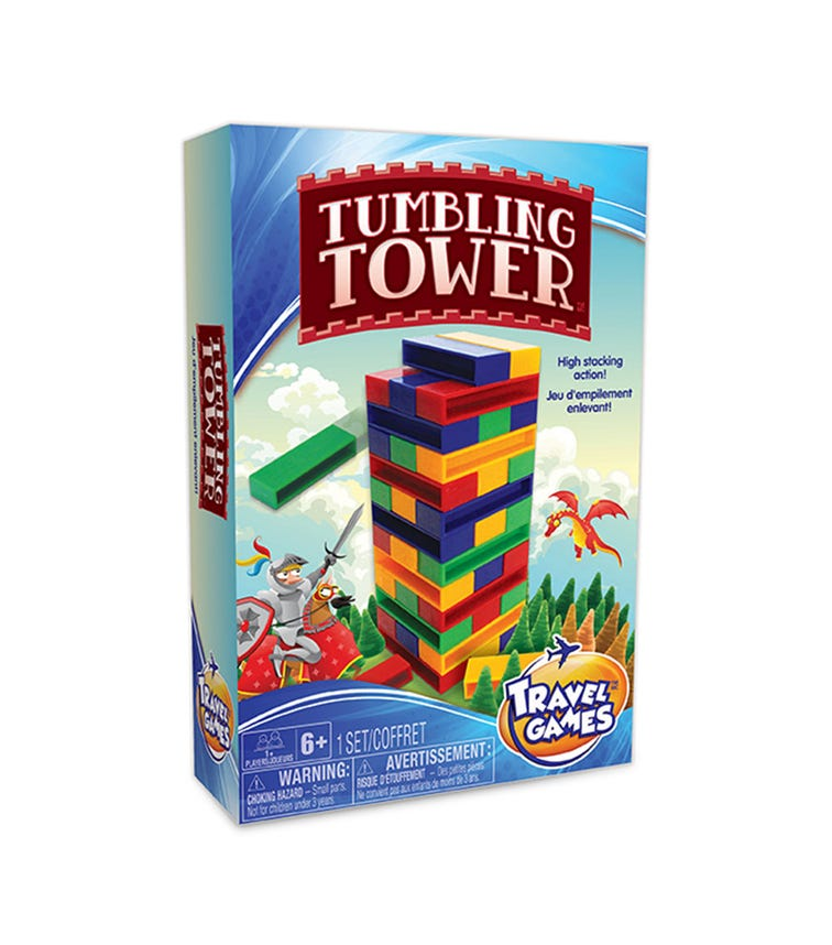 TCG Travel Tumbling Tower