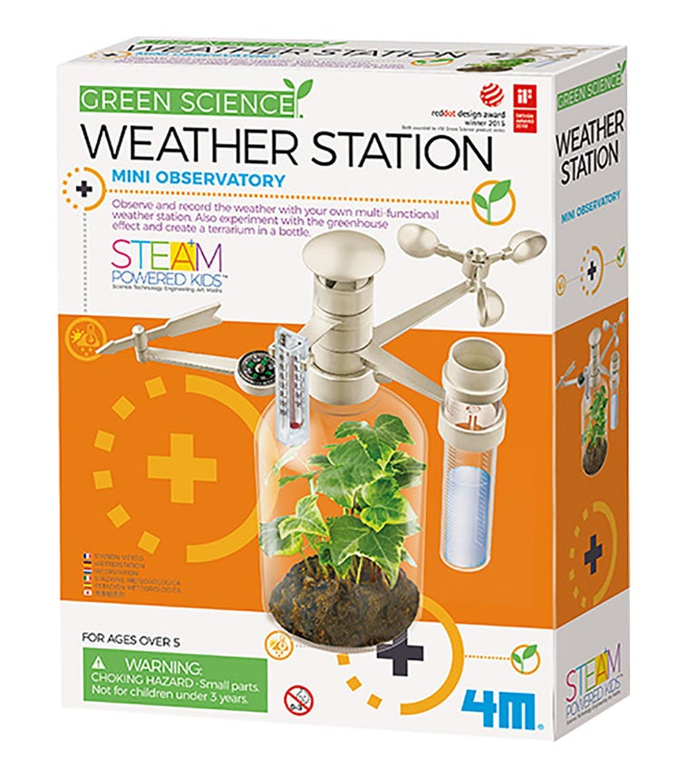 4M Kidz Labs Green Science Weather Station