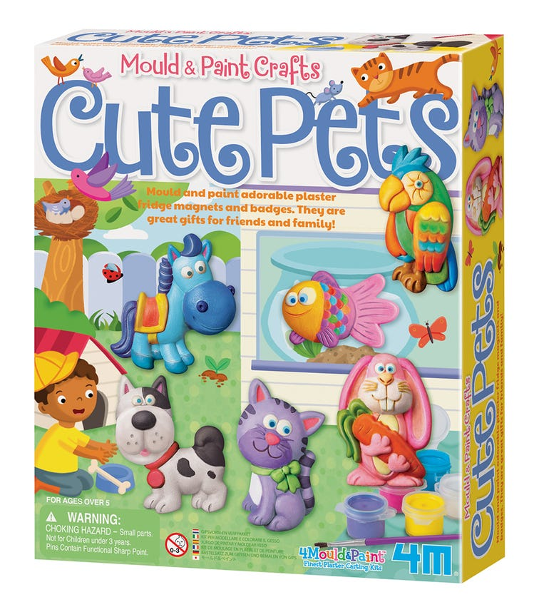 4M Mold And Paint Pets