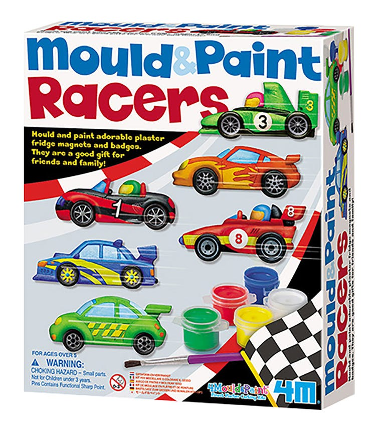 4M Mold And Paint Racer