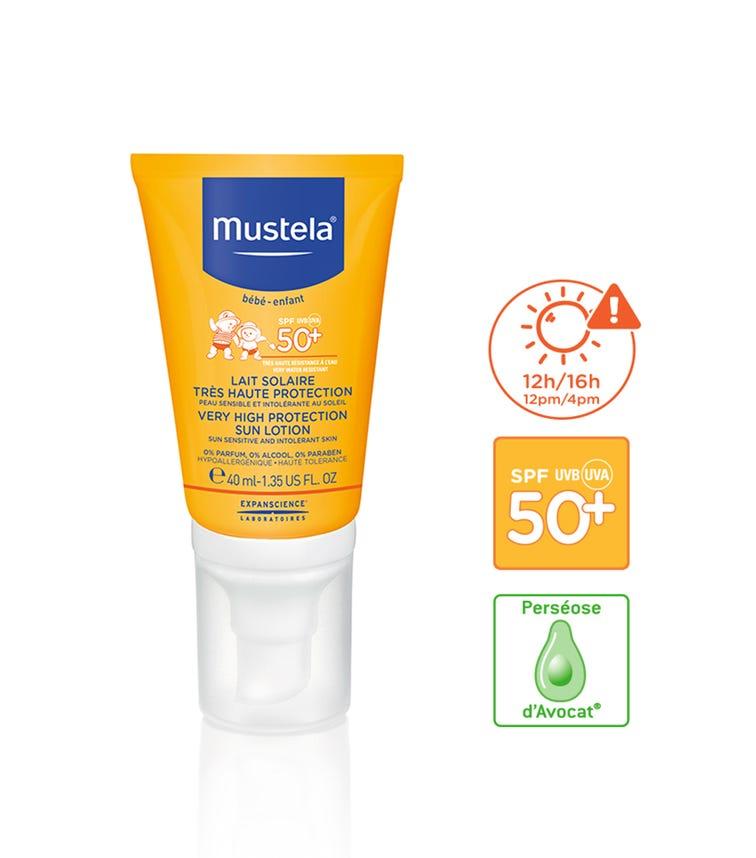 MUSTELA Very High Protection Sun Lotion Spf 50+ 40 ML