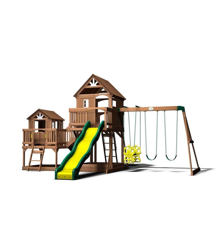 BACKYARD DISCOVERY Malibu Swing Set