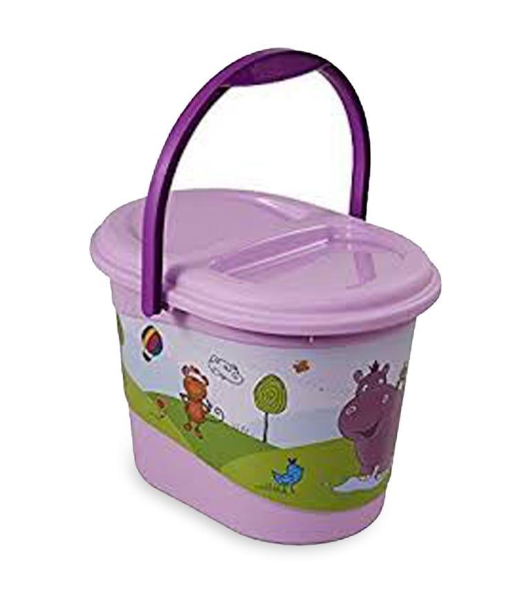 OKT Nappy Bin Hippo Lilac