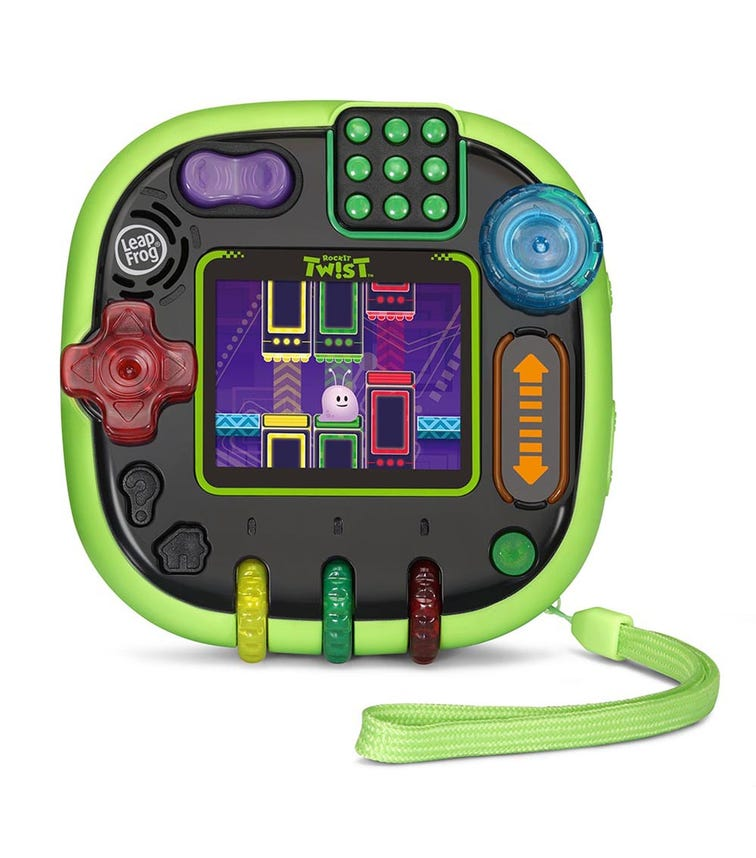 LEAP FROG Rockit Twist Handheld Learning Game System Green