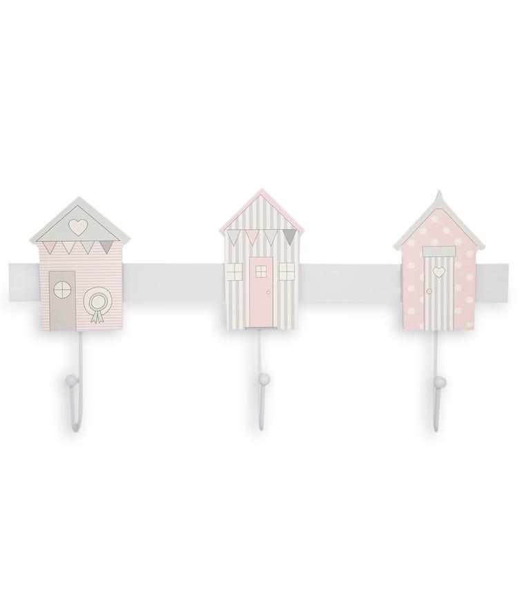 GREENGATE Kids Hook Rack Ellison - Pale Pink