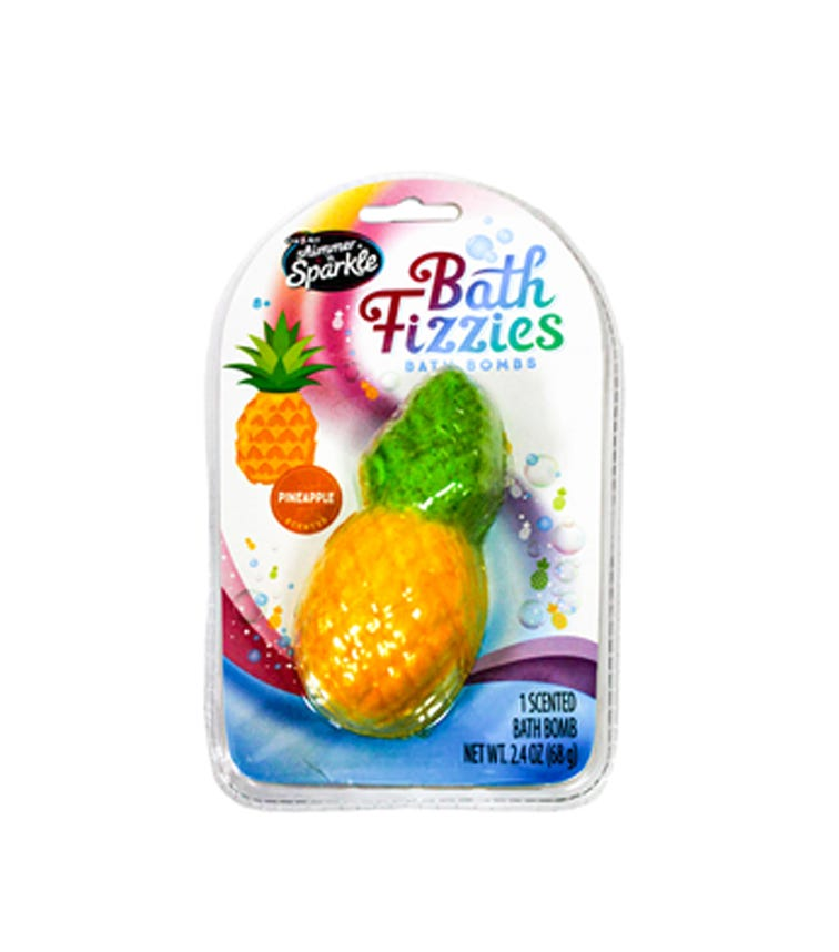 SHIMMER 'N SPARKLE Bath Fizzies Pineapples